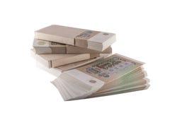Последние банкноты СССР Стоковая Фотография RF