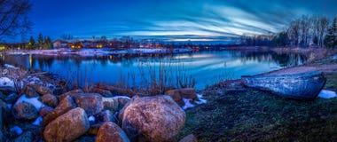 Последние лучи зимы Стоковая Фотография RF