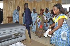 Последний дом матери президента Laurent Gbagbo Стоковое Изображение RF
