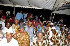 Последний дом матери президента Laurent Gbagbo Стоковые Изображения