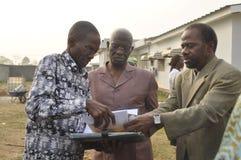 Последний дом матери президента Laurent Gbagbo Стоковое Изображение