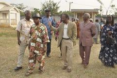 Последний дом матери президента Laurent Gbagbo Стоковое фото RF