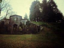 Последний дом стоковая фотография