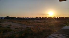Последний свет дня Стоковое Изображение