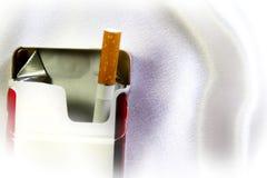 Последняя сигарета в пакете Стоковая Фотография RF