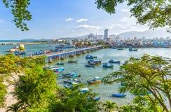 После полудня весны гребли Nha Trang Стоковые Изображения