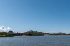 После полудня озером Стоковое Фото
