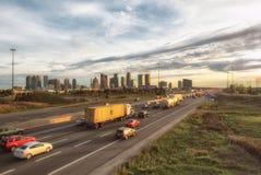 После полудня шоссе 403 Mississauga Стоковое Изображение