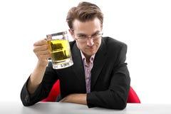 После пролома пива работы Стоковые Изображения RF