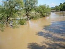 Последствие не потока реки старого Стоковые Изображения RF