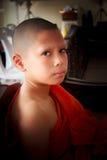 Послушник в Таиланде, молодой монах стоковые фото