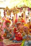 Послушник в Poy Петь длинной с фестивале в северной Таиланда. стоковые фото