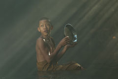 Послушник эмоции buddhsim Стоковое Изображение
