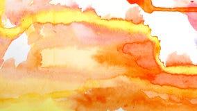 Потеки акварели Абстрактная картина ( бесплатная иллюстрация