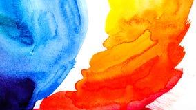 потеки акварели абстрактная картина Справочная информация иллюстрация штока