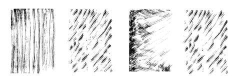 Потеки вектора излишка бюджетных средств Вертикальные и раскосные линии, падают и брызгают различный размер Высушите текстуру щет Стоковое Фото