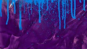 Потеки splatter акварели абстрактная картина Масло на холстине окно текстуры детали предпосылки старое деревянное бесплатная иллюстрация