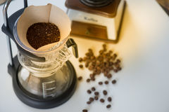 Потек кофе Стоковое Фото