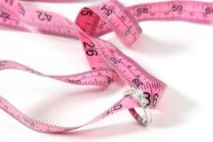 потеряйте вес венчания стоковое фото