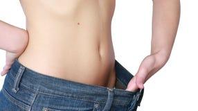 потерянная женщина веса Стоковая Фотография RF
