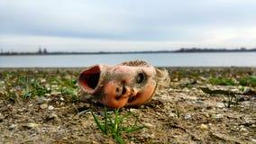 Потерянная кукла Стоковые Фото