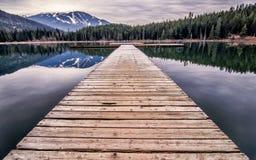 Потерянная стыковка озера Стоковые Фото