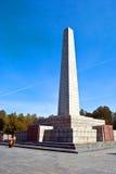 потерянные воины памятника к Стоковая Фотография RF
