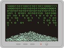 потерянные данные Стоковое Изображение RF