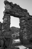 потерянные руины Стоковые Изображения