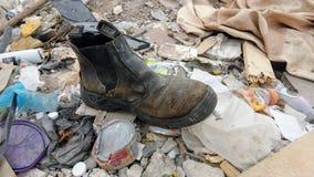 потерянный ботинок Стоковые Фото