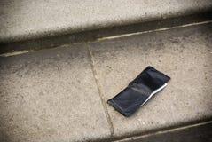 потерянный бумажник стоковое изображение