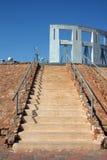 потерянный памятник к туристу Стоковое Изображение RF