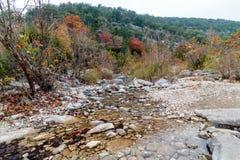 Потерянный парк штата кленов в Техасе Стоковое Изображение RF