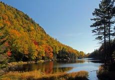 Потерянный пруд в Нью-Гэмпшир, США Стоковые Изображения
