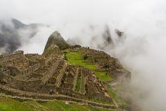 Потерянный старый город Inca Стоковое Изображение RF