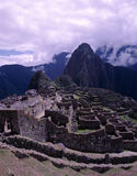 Потерянный Incan город Machu Picchu, Перу Стоковые Фото