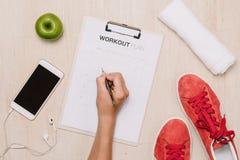 Потеря веса, ход, здоровая еда, здоровая концепция образа жизни стоковые фотографии rf