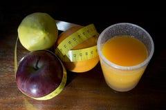 Потеря диеты и веса стоковое фото