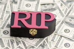 Потеря изображения концепции беды денег финансового стоковые изображения rf