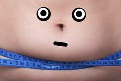 Потеря или диета веса стоковое фото