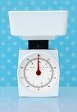 потеря кухни диетпитания принципиальной схемы вычисляет по маштабу вес Стоковое Изображение RF