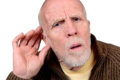 Потеря слуха Стоковое фото RF