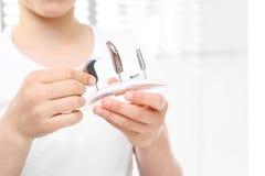 Потеря слуха в детях стоковые изображения rf