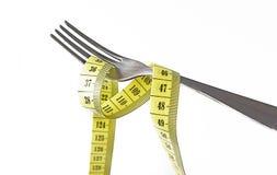 Потеря Dieting и веса Стоковая Фотография