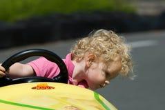 потеха автомобиля мальчика имея Стоковые Изображения