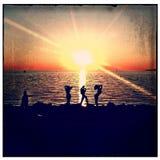 Потеха в Солнце стоковые изображения