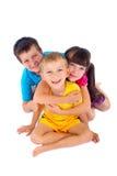 потеха детей имея Стоковые Фотографии RF
