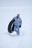 Потеха зимы Стоковые Изображения