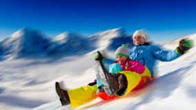 Потеха зимы Стоковое фото RF