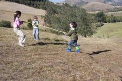 потеха имея парк малышей Стоковая Фотография RF